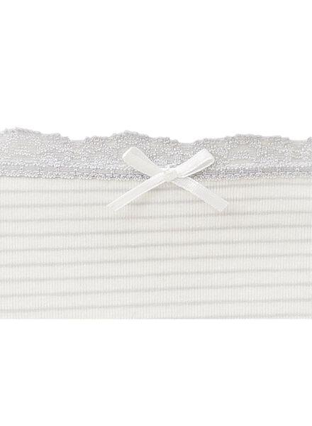 3-pack women's briefs grey melange grey melange - 1000006551 - hema