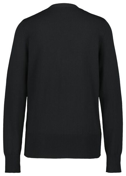Damen-Cardigan schwarz XL - 36344789 - HEMA