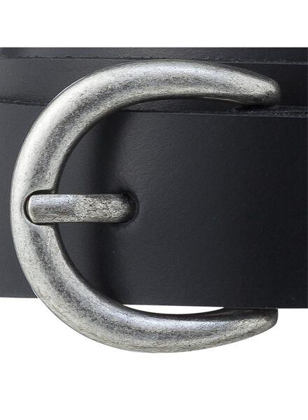 women's belt black black - 1000000852 - hema