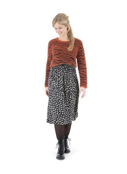 women's skirt black M - 36211728 - hema