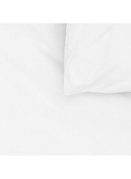 housse de couette-coton doux-240x220cm-blanc - 5700069 - HEMA