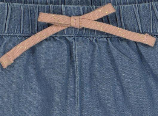 baby trousers with frills denim denim - 1000018235 - hema