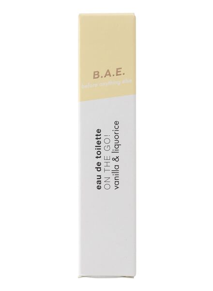 B.A.E. edt on the go! vanilla and liquorice 10ml - 17730012 - HEMA