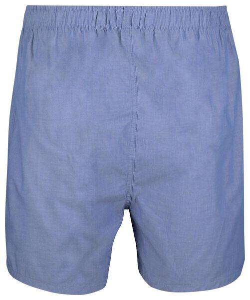 men's boxer shorts woven light blue light blue - 1000018778 - hema