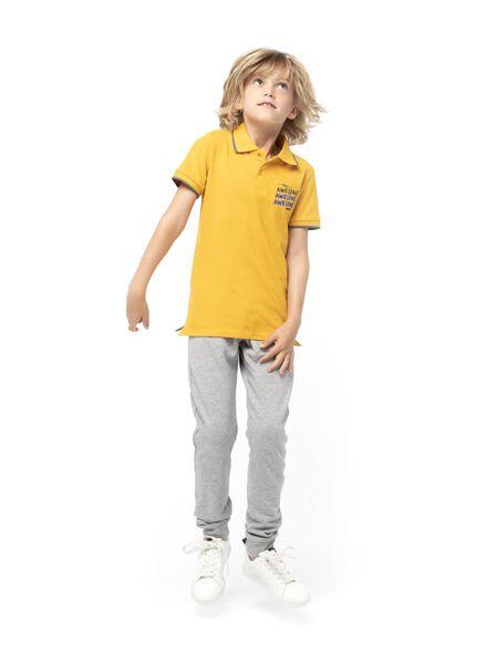 pantalon sweat enfant gris chiné gris chiné - 1000004036 - HEMA