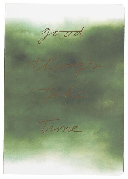 notebook ruled A5 good things - 14126685 - hema