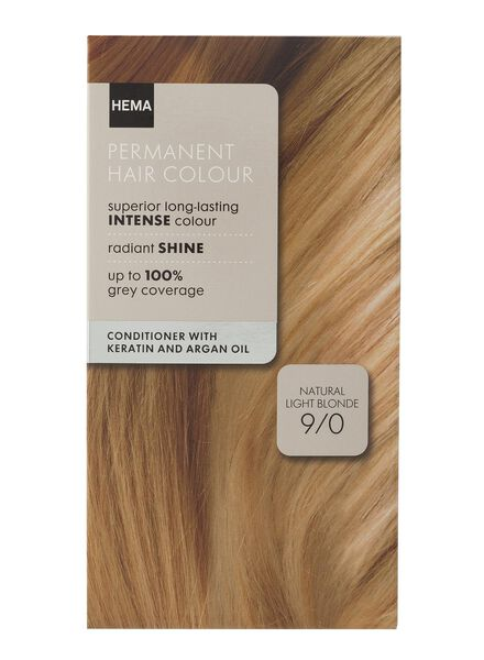 hair dye light blonde 9/0 - 11050012 - hema