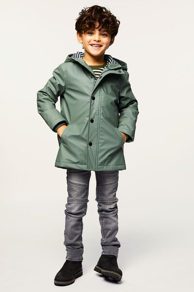 Kinder-Jacke grün grün - 1000022276 - HEMA