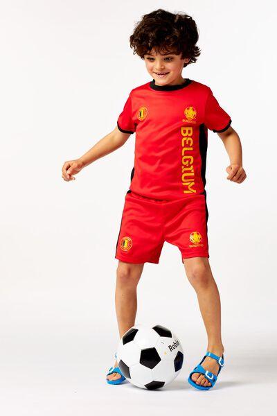 EK voetbal kinder t-shirt rood - 1000019562 - HEMA