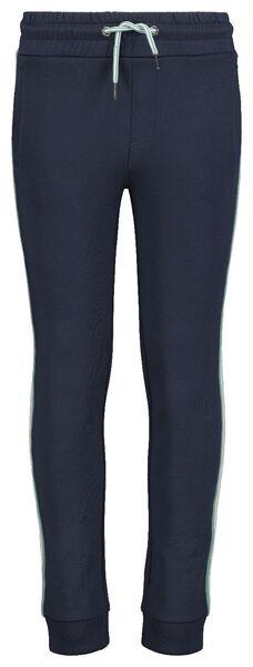 children's sweatpants dark blue dark blue - 1000017688 - hema