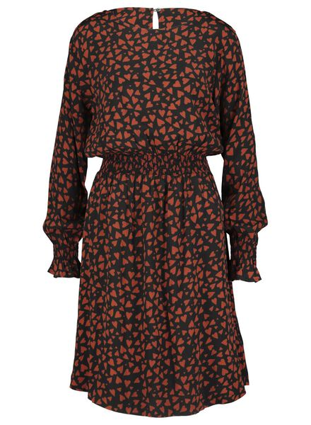 Damen-Kleid schwarz schwarz - 1000017178 - HEMA
