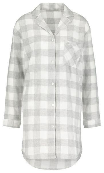 Damen-Nachthemd grau XL - 23420794 - HEMA