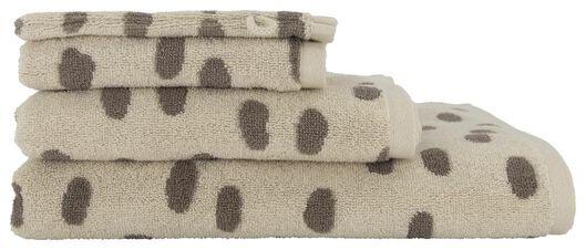 serviette de bain - qualité épaisse sable sable - 1000018648 - HEMA