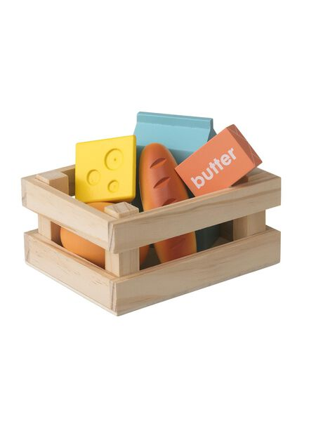 Holz-Einkaufskiste - 15122394 - HEMA