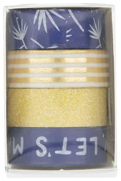 4 washi tapes - 14132302 - hema