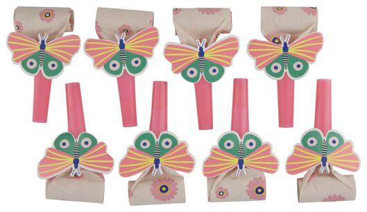 8er-Pack Luftrüssel, Schmetterlinge - 14200421 - HEMA