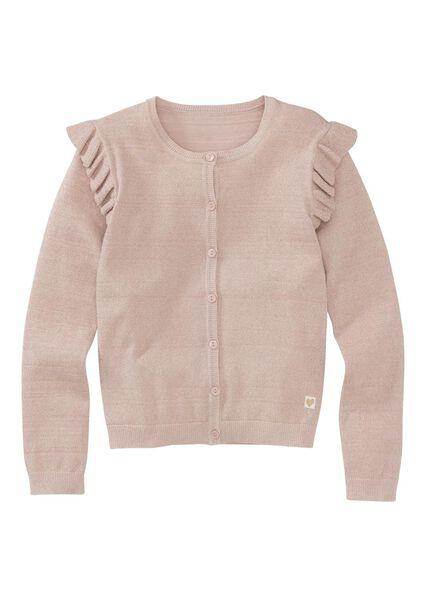 children's cardigan light pink light pink - 1000005933 - hema
