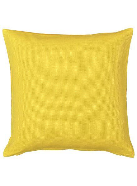 kussenhoes - 50 x 50 - geel - 7392010 - HEMA