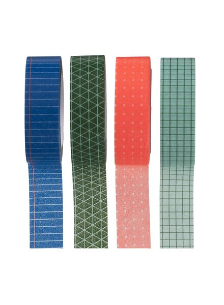 4-pack washi tape - 14880094 - hema