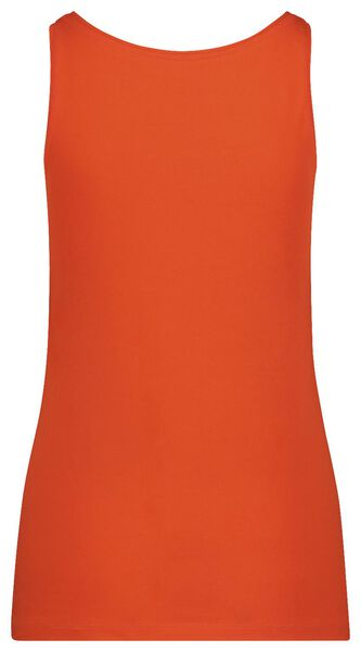 women's singlet organic cotton red red - 1000019352 - hema
