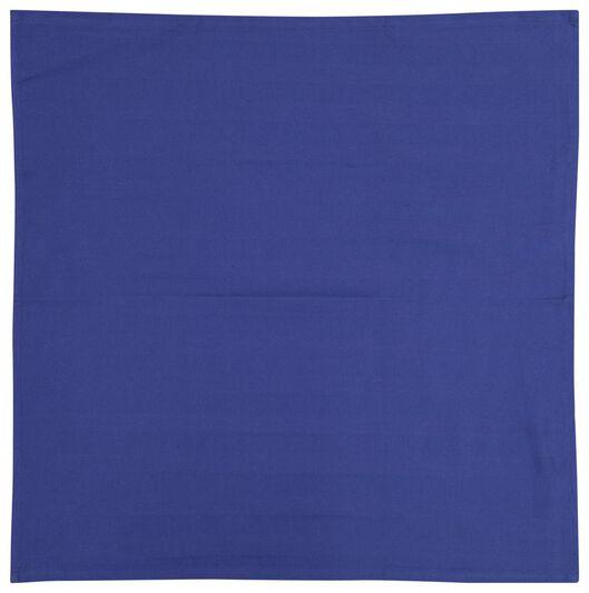 torchon 65x65 coton bleu foncé - 5410095 - HEMA