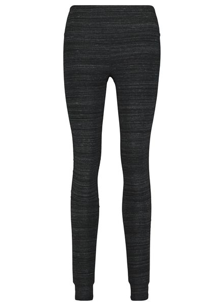 women's sports leggings grey melange grey melange - 1000020394 - hema