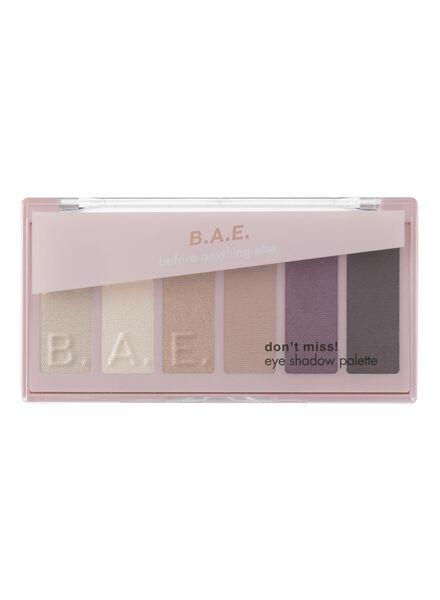 B.A.E. palette ombres à paupières 01 don't miss - 17700032 - HEMA