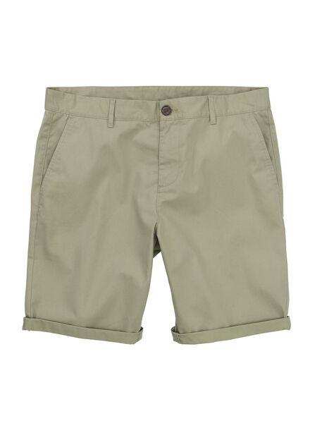 men's chino shorts green green - 1000006156 - hema