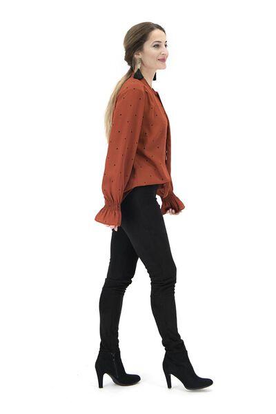 women's top brown brown - 1000017417 - hema