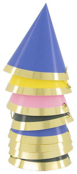 8 party hats Ø 8 cm - 14200443 - hema