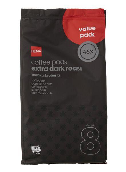 Kaffeepads extra dark roast - 46 Stück - 17100026 - HEMA