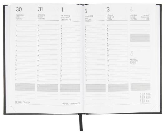agenda 2021 - 24.5x17.5 - multilingue noir - 14622224 - HEMA