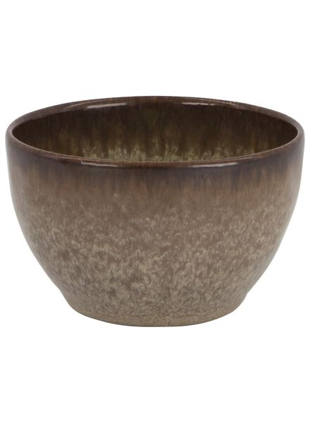 bowl 10 cm - Porto reactive glaze - earth - 9602041 - hema