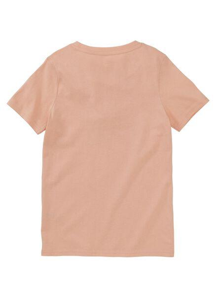 Kinder-T-Shirt rosa - 1000012365 - HEMA