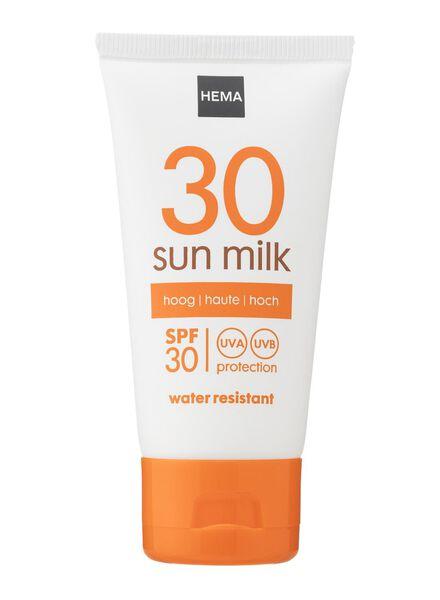 mini lait solaire SPF 30 - 11610141 - HEMA
