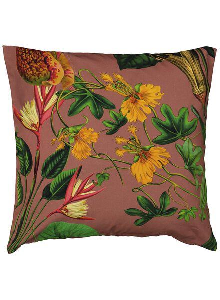 cushion cover - 50x50 - flowers terracotta - 7391060 - hema
