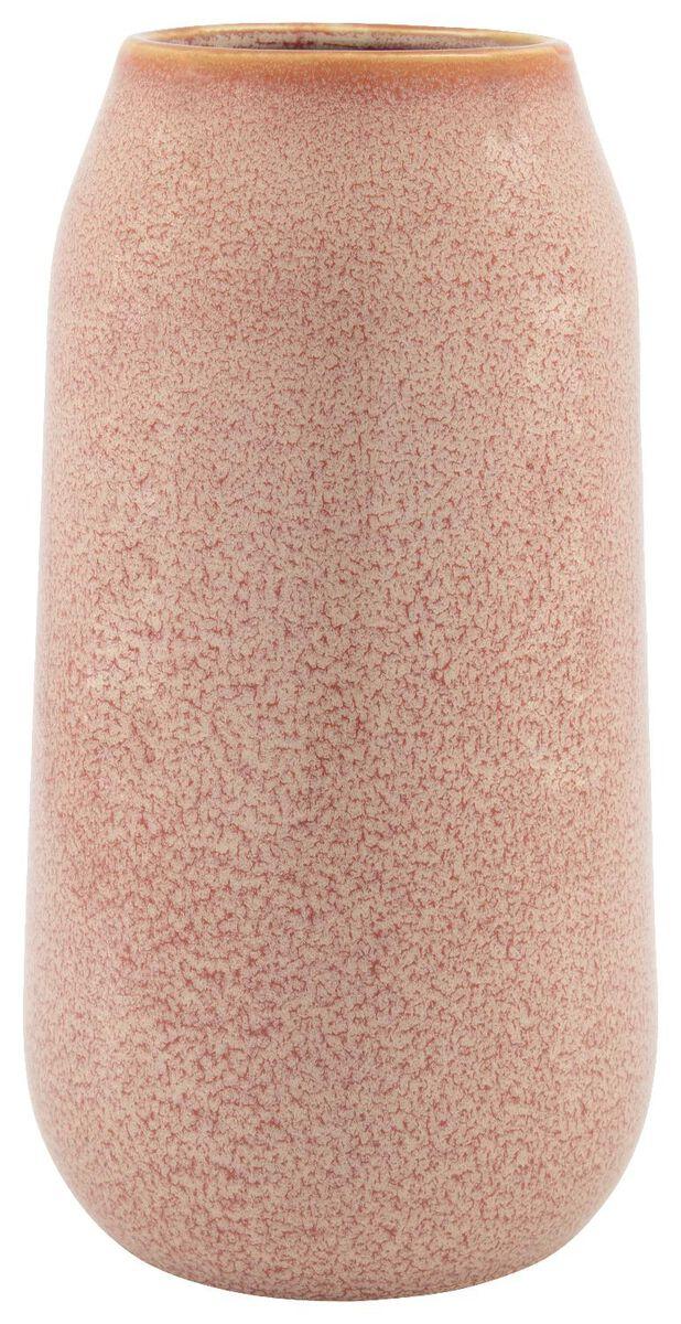 vase - 27cm x Ø 15cm - céramique terracotta - 13321013 - HEMA