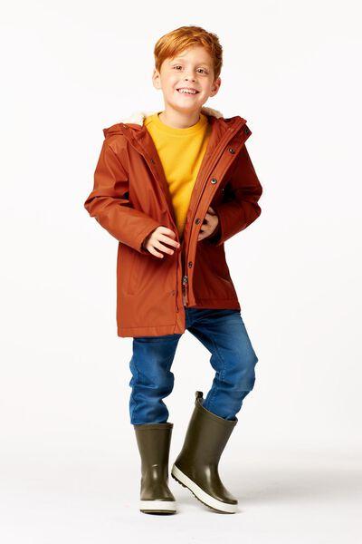 manteau enfant marron marron - 1000024401 - HEMA