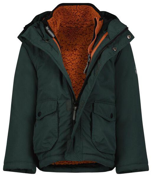 3-in-1-Kinder-Jacke dunkelgrün dunkelgrün - 1000024539 - HEMA