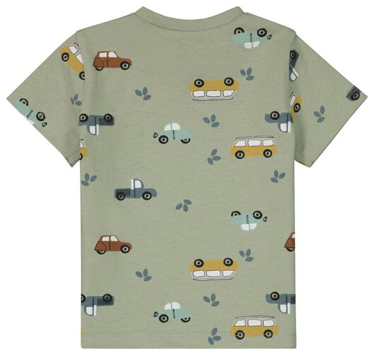 Baby-T-Shirt, Autos grün grün - 1000024081 - HEMA