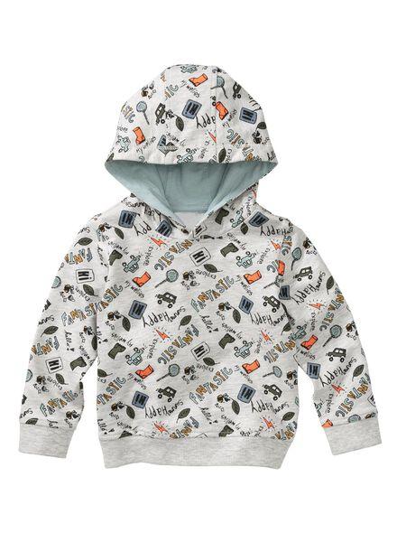 HEMA Baby Sweatshirt Graumeliert