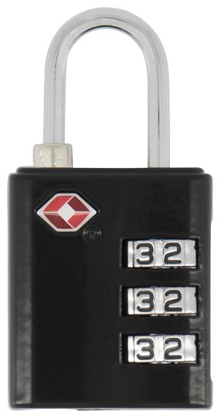 TSA combination lock - 6,5x3 - 18630008 - hema