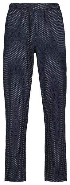 men's pyjama bottoms dark blue dark blue - 1000018349 - hema