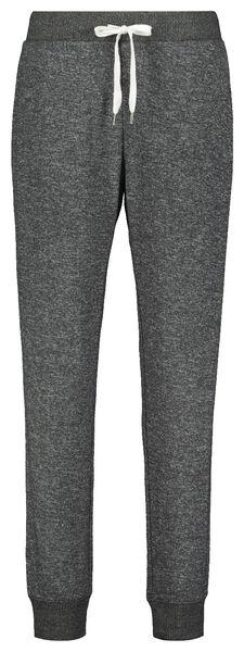 dames pyjamabroek sweat grijs grijs - 1000021684 - HEMA