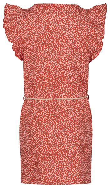 Kinder-Kleid rot rot - 1000018980 - HEMA