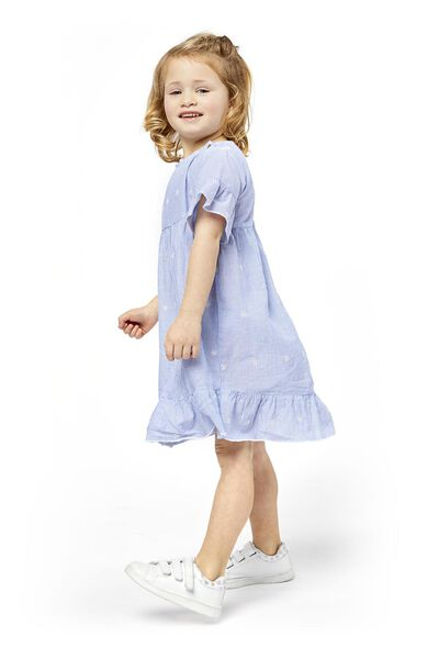 children's dress blue blue - 1000019030 - hema