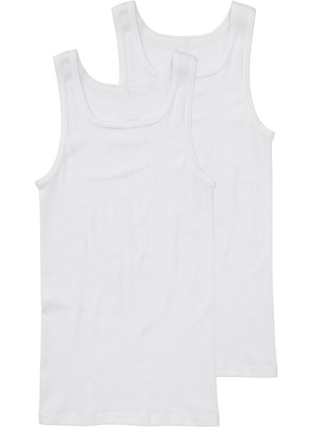 HEMA 2er-Pack Herrenhemden Weiß