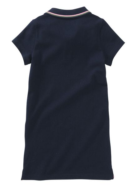 children's polo dress dark blue dark blue - 1000007777 - hema