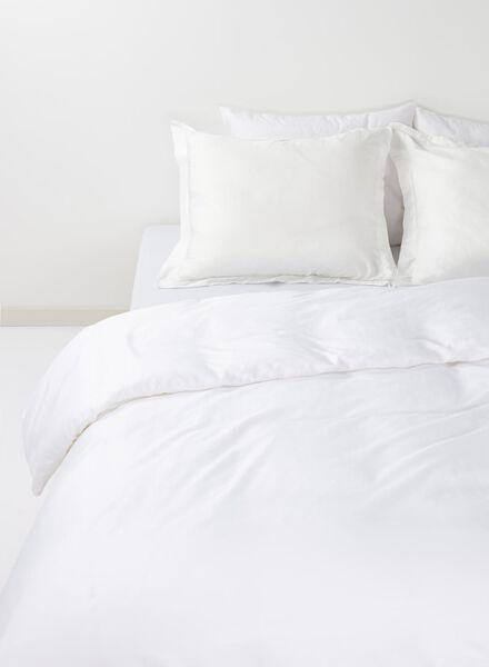 housse de couette-hôtel percale de coton blanc blanc - 1000014079 - HEMA