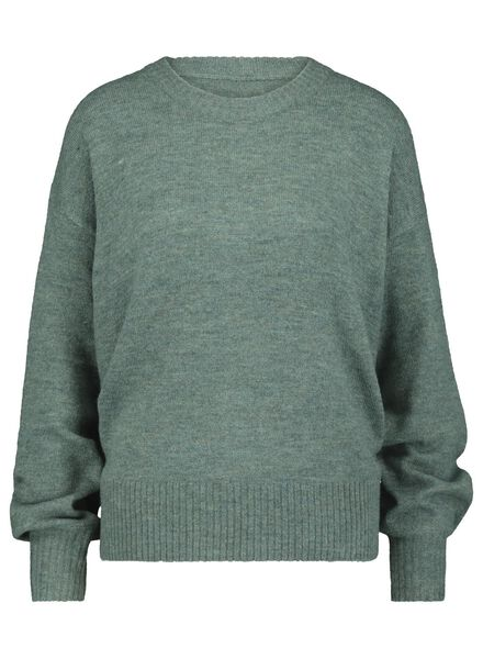 women's sweater light green light green - 1000015644 - hema